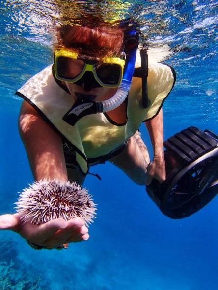 I [heart] snorkeling!