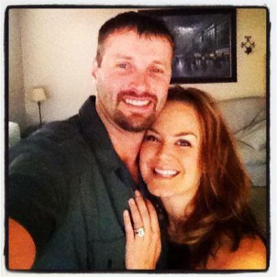 My husband Jake and I!