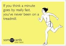 treadmill minute
