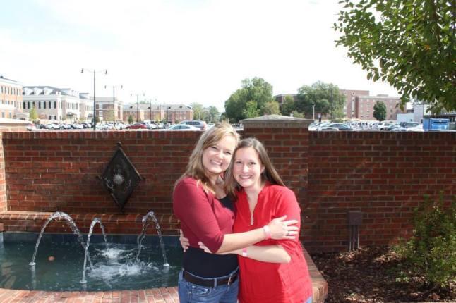 Amanda and I on the University of Alabama Campus, Fall 2013
